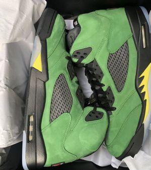 "Air Jordan 5 ""Oregon"" (All size) for Sale in Washington, DC"