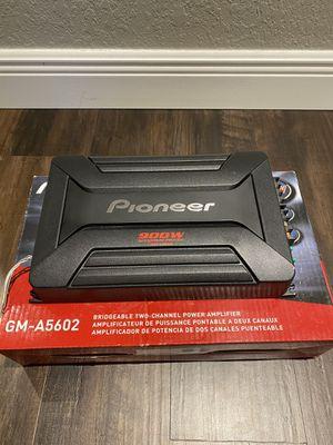 Pioneer Gm-a5602 450 Watt Rms 2-channel Class Ab Amplifier 900 Watt for Sale in Pompano Beach, FL