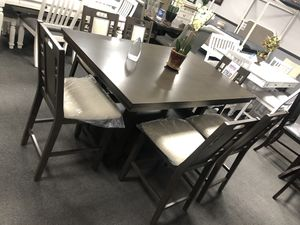 7PC Dining Table Set w/ Bottom Storage for Sale in Fresno, CA