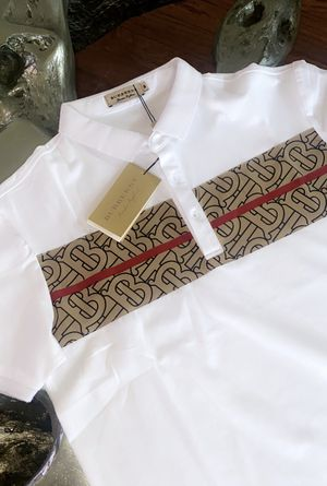 BURBERRY POLO SHIRT FOR MEN BRAND NEW for Sale in Dallas, TX