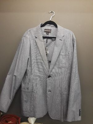 Michael kors navy blue and white blazer 46 regular for Sale in Chicago, IL