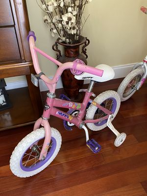 Little girls Huffy Bicycle with training wheels $10 for Sale in Vero Beach, FL