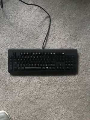 Black widow chroma PC usb mechanical keyboard for Sale in Eau Claire, WI