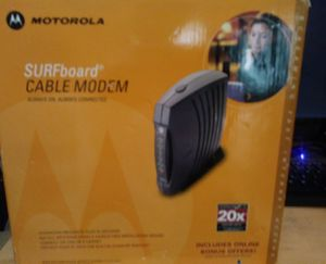 Motorola Docsis Cable Modem for Sale in Washington, DC