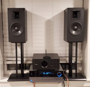 Klipsch SB3 Black, Harman Kardon AVR 230, Yamaha subwoofer YST-FSW050 for Sale in Vancouver, WA