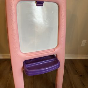 Kids double sided toy chalk board and easel for Sale in Livonia, MI
