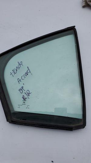 Honda Accord 2009 Right rear quarter glass for Sale in El Cajon, CA