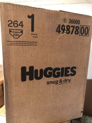 Huggies snug dry size 1 for Sale in Norwalk, CA