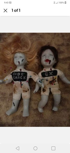 Set of 2 Voodoo Dolls for Sale in MD, US
