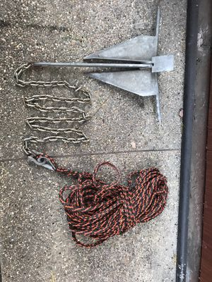 Boat anchor, Danforth style. for Sale in Redwood City, CA