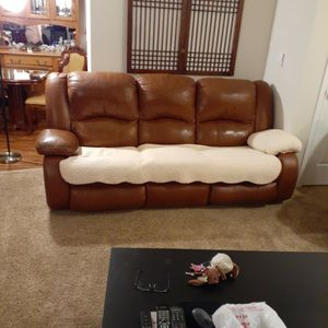 Leather Recliner for Sale in Tacoma, WA