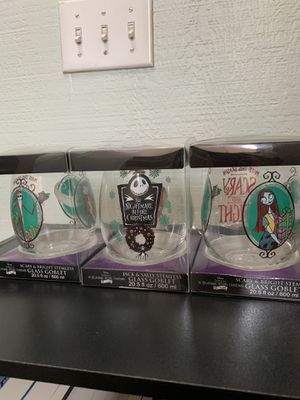 Nightmare Before Christmas Goblets for Sale in Pewee Valley, KY