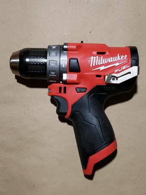 NEW MILWAUKEE M12 FUEL 12v Li-on Brushless 1/2'' Hammer Drill Tool-Only 2504-20 for Sale in Greenville, SC