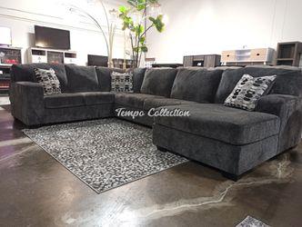 Sectional Sofa, Smoke, SKU# ASH80703TC for Sale in Santa Fe Springs,  CA