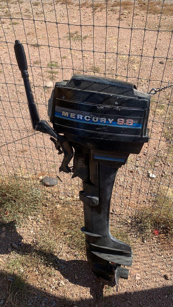 Mercury 9.8 HP Long Shaft $1,000