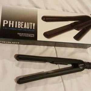 PHI beauty ceramic straightener Flat Iron for Sale in Rialto, CA