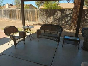 Outdoor Furniture. Wicker Set for Sale in Mesa, AZ
