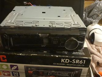 Jvc Kd Sr61 for Sale in Mantua,  OH