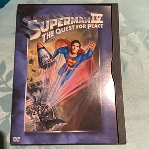 SUPERMAN IV THE QUEST FOR PEACE DVD for Sale in Hialeah, FL