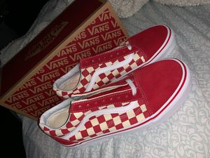 Brand New Old School Checkered Vans for Sale in Carlsbad, CA