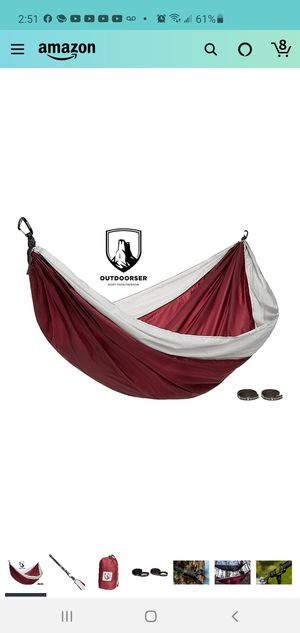 Single camping hammock for Sale in Indianapolis, IN