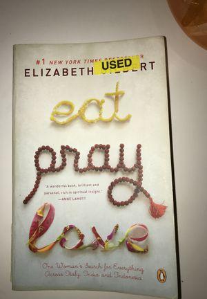 Eat, pray, love by Elizabeth Gilbert for Sale in Los Angeles, CA