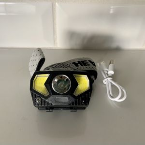 Headlamp - USB RECHARGEABLE - built in induction switch, 300 lumens for Sale in Paradise Valley, AZ