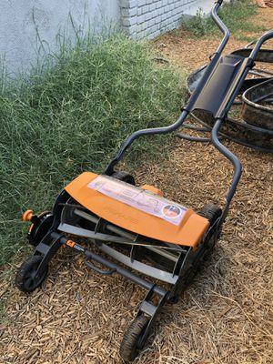 Fiskars push reel lawnmower for Sale in Riverside, CA
