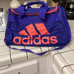 Pink and Purple Adidas Duffle Bag for Sale in San Marcos,  CA