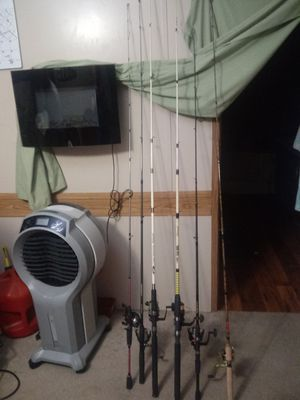Variety of fishing poles for Sale in Wylie, TX