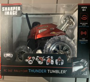 Sharper Image RC 360 Rally Car Thunder Tumbler Remote Control for Sale in Lake Park, FL