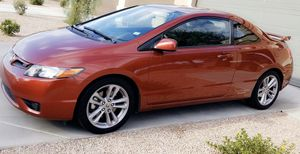 2007 Honda Civic Si coupe. Habanero Red! 91k miles. 6 Speed for Sale in Goodyear, AZ