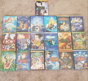 Walt Disney's Platinum 19 DVD Bundle for Sale in Vacaville, CA