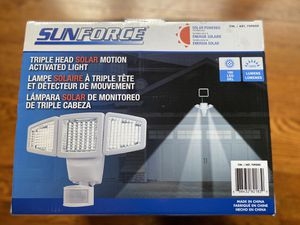 Sunforce Solar Motion Security Light - NEW for Sale in Las Vegas, NV