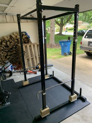 Weightlifting rack and pull-up bar for Sale in Fairfax, VA