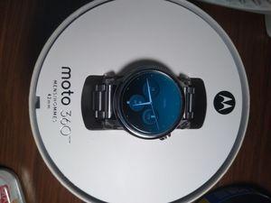 Like New Mens Moto 360 Gen 2 Stainless Steel smartwatch 42mm for Sale in Lemoyne, PA