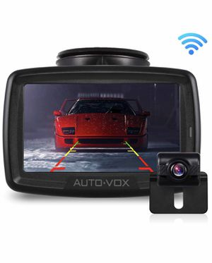 W2 NO Interference Digital Wireless Backup Camera System Kit with Built-in Transmitter, IP68 Waterproof Wireless Rear View Camera and 4.3'LCD Wireles for Sale in Lorton, VA