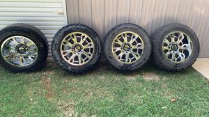8x6.5 12.50 -44 offset 20s on 35s 10% tread for Sale in Tupelo, MS