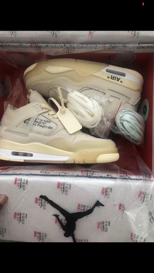 Off white Jordan 4 for Sale in Beverly Hills, CA
