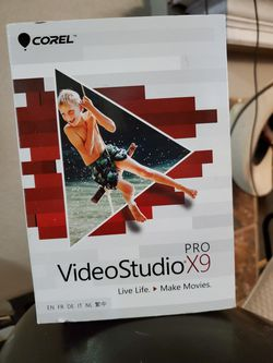 Corel VideoStudio Pro X9 for Sale in Grand Prairie,  TX