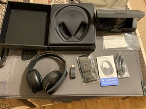 PlayStation Platinum Wireless Headset for Sale in Abilene, TX