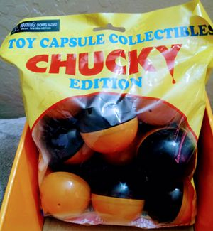 NECA CHUCKY Edition Themed Toy Capsule Mystery Hidden Collectibles 9 Per Bag for Sale in Phoenix, AZ