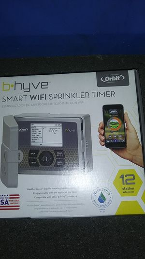 Orbit B Hyve 12 station Wi-Fi sprinkler timer for Sale in San Dimas, CA