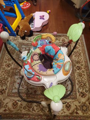 Infant Baby Animals Zoo Theme Bouncer/Jumper for Sale in Virginia Beach, VA
