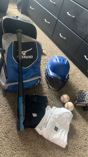 Boys baseball equipment/package for Sale in Huntington Beach, CA