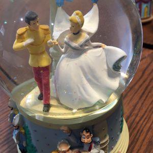 Disney Cinderella Music Snow Globe for Sale in Lockport, IL