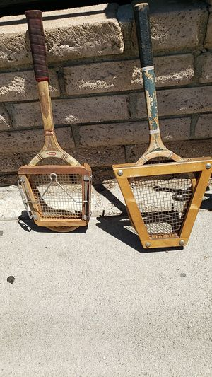 Vintage tennis rackets for Sale in Los Angeles, CA
