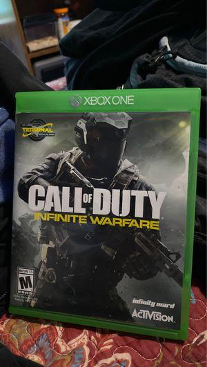 Xbox One Call of Duty Infinite Warfare for Sale in Romeoville, IL
