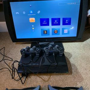 Sony PS3 250gb, Sony PS3 3D Monitor, 2 Controllers, Sony Camera for Sale in Lynnwood, WA