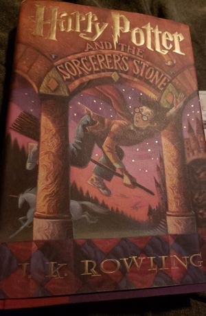 Harry Potter Sorcerer's Stone first american edition for Sale in Coweta, OK
